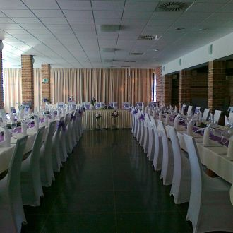 Wedding reception - the Glass Hall
